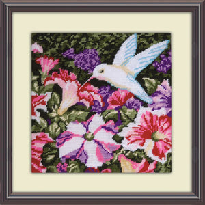Hummingbird Needlepoint kit