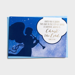 Unto You is Born This Day Boxed Christmas Cards J3373