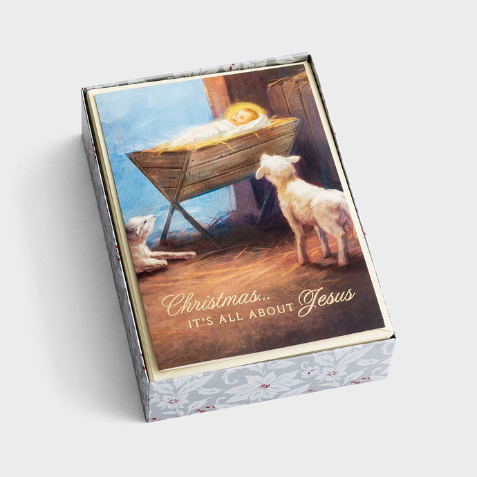Christmas... It's All About Jesus Boxed Christmas Cards J3376