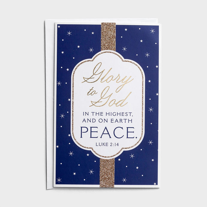 Glory to God in the Highest Boxed Christmas Cards J3379