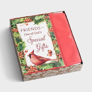 Friends are God's Special Gift Boxed Christmas Cards J3384