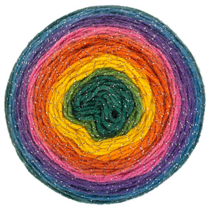 Kaleidoscope multi-color yarn
