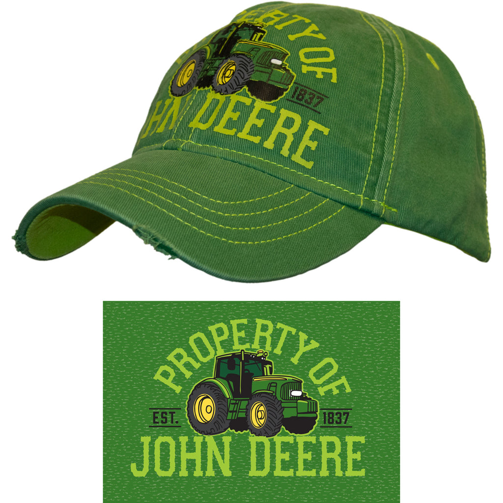 John Deere Childrens Green Cap