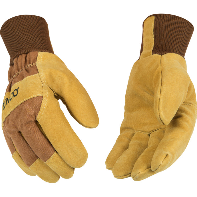 Kinco leather work gloves