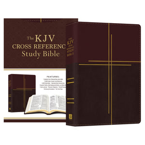 kjv cross reference study bible compact