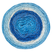 Kystal blue yarn