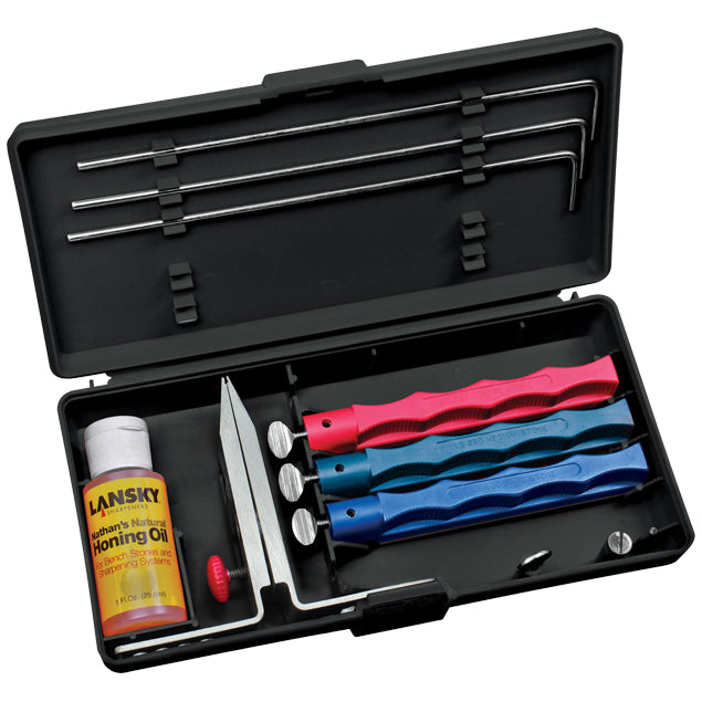 Knife sharpening set