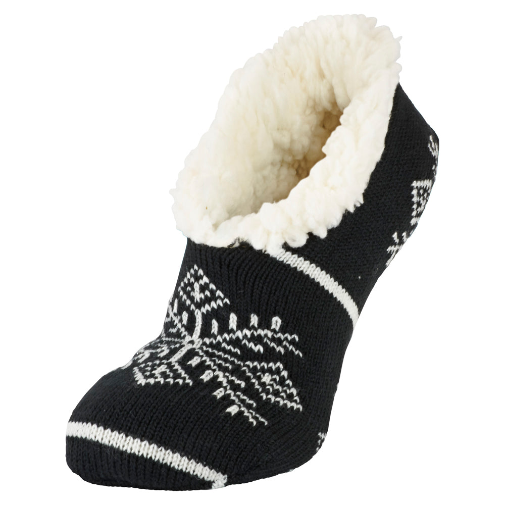 Snowflake slipper