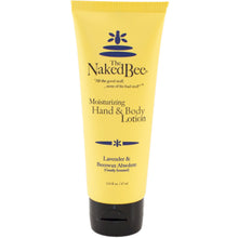 tube of naked bee lavender and beeswax hand and body lotion