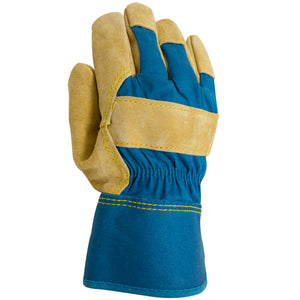 Women's leather work glove