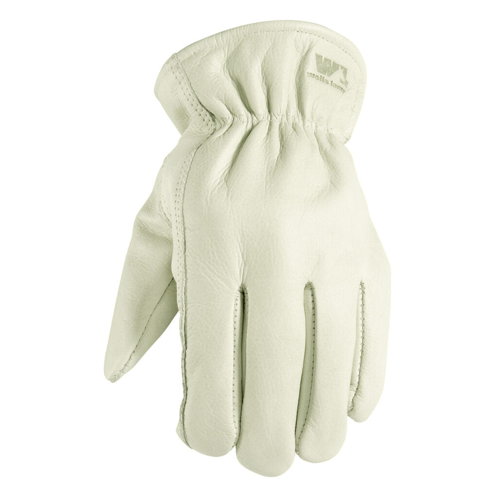Full grain leather work glove