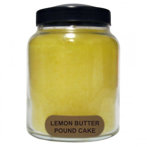 Lemon cake candle