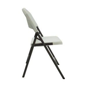 Sideview of folding chair