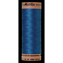 Mediterrian blue thread