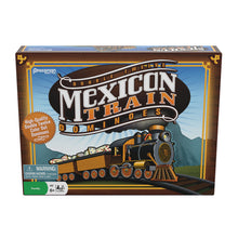 Mexican train dominoes box