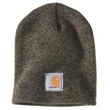 Olive and black Carhartt beanie