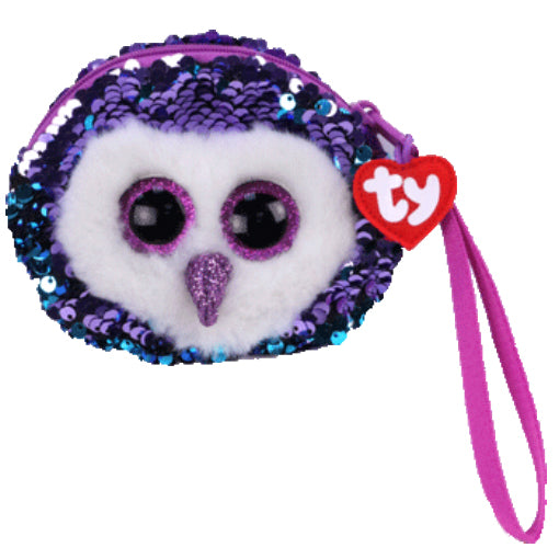 Moonlight owl wristlet
