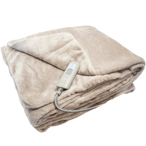Mushroom heated throw