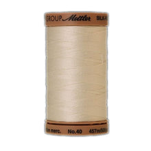 Muslin color machine quilting thread