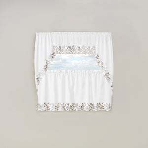 Set of window curtains