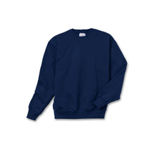 Navy crewneck sweatshirt