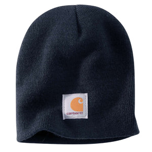 Navy Carhartt winter hat