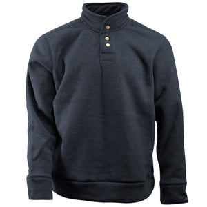 Navy men's shirt jacket