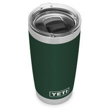 Northwoods green YETI travel mug
