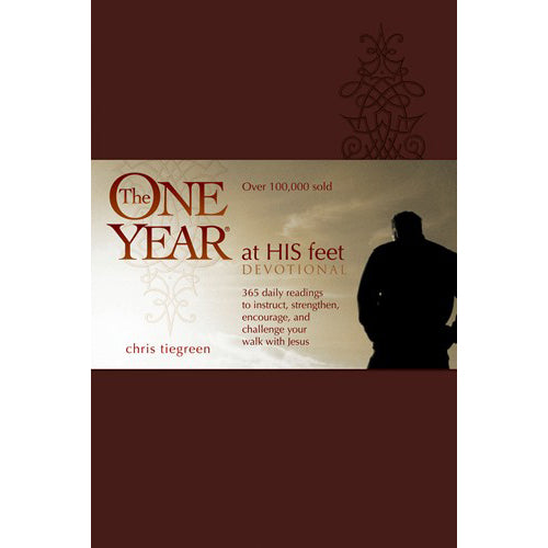 One Year At His Feet Devotional Book