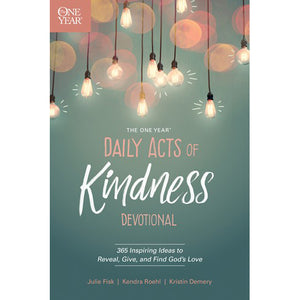 One Year Daily Acts of Kindness Softcover Devotional