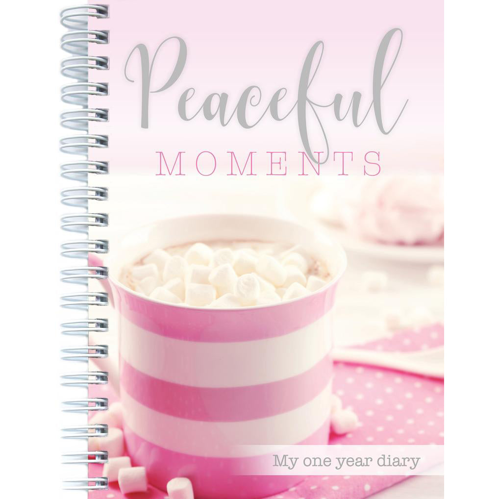Peaceful Moments 1 Year Diary 4771