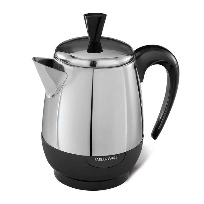 Stainless Steel 4 Cup Electric Percolator FCP240