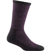 Plum boot sock