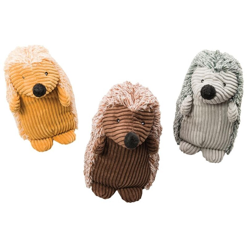 Plush Corduroy Hedgehog Pet Toy 54127