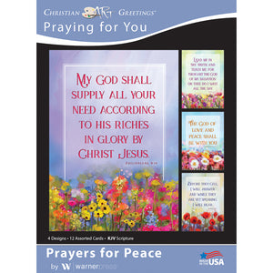 Prayers for Peace Boxed Cards