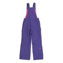 Purple snow overalls for children