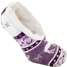 Purple wintergreen slipper