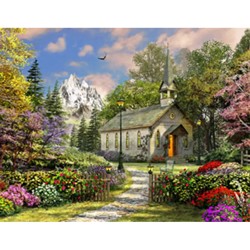Mountain View chapel puzzle