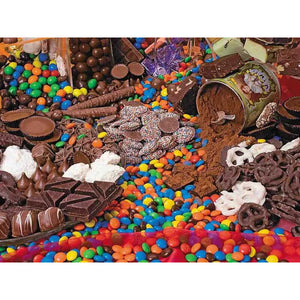 Chocolate theme puzzle