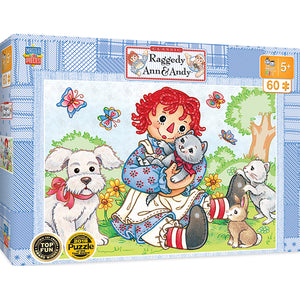 Raggedy Ann & Andy Best Friends 60 PC Puzzle 11821