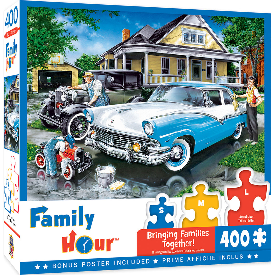 Family Hour Three Generations 400 PC Puzzle 31827