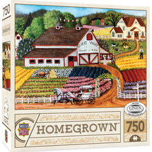 Homegrown Fresh Flowers 750 PC Puzzle 31801