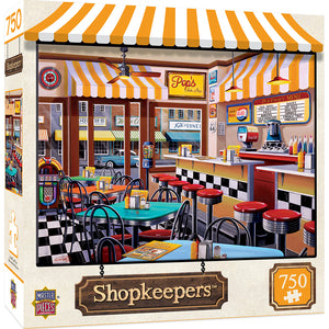 Shopkeepers Pop's Soda Fountain 750PC Puzzle 31829