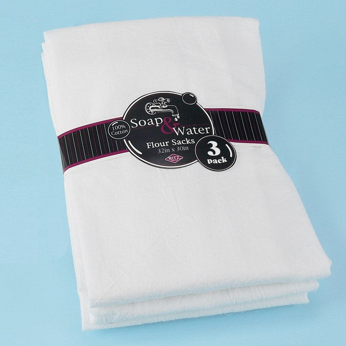 ritz white flour sack kitchen towel