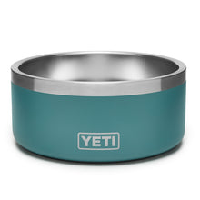 River green dog bowl