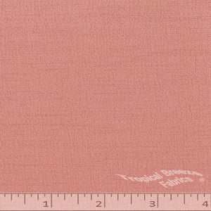Rose solid color fabric