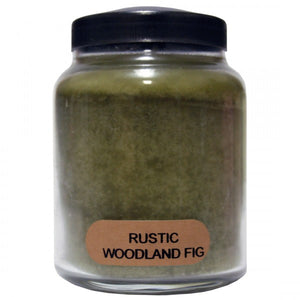 Rustic woodland fig candle