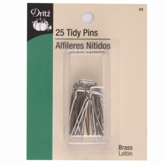 Dritz Double Prong Tidy Pins S-65