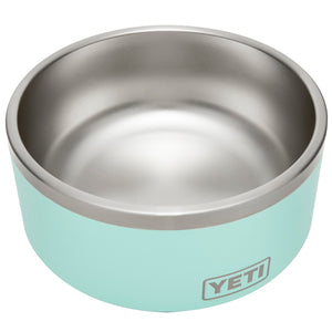 Seafoam dog bowl