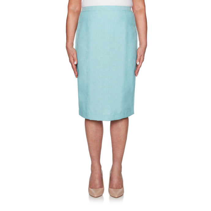 Seafoam blue skirt